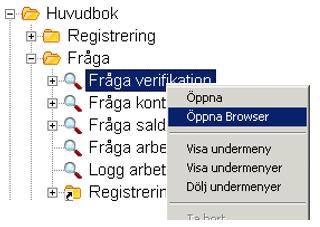 För att få fram browserläget går du till samma menypunkt där du normalt tar  fram din frågebild d8093457d6eee